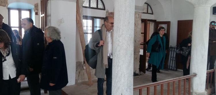 Επίσκεψη του Γενικού Γραμματέα του Υπουργείου Πολιτισμού και Αθλητισμού στα Τεμένη της Κω