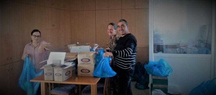 Ενίσχυση απόρων συμπολιτών μας από το ΒΑΚΟΥΦ