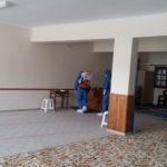 Απολύμανση του χώρου προσευχής (αίθουσα Βακούφ Κω) από εξειδικευμένο συνεργείο