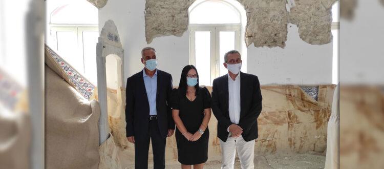 Επίσκεψη της υπουργού πολιτισμού κας. Μενδώνη