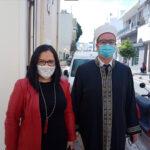 Εθιμοτυπικές επισκέψεις του νέου Ιμάμη Κω κ. Ιρφάν Τράμπα σε Μητροπολίτη και Έπαρχο
